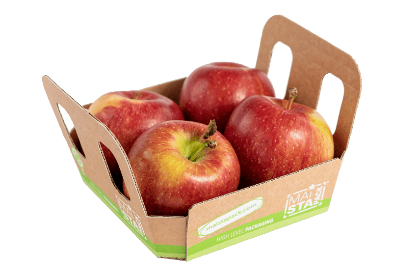 Maistapack Apfelschale aus Wellpappe