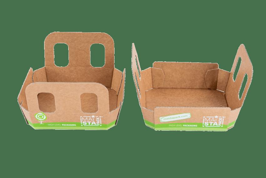 Kartonschalen für Äpfel