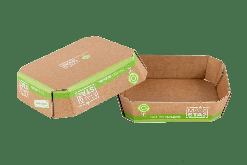 Obstschalen aus Karton