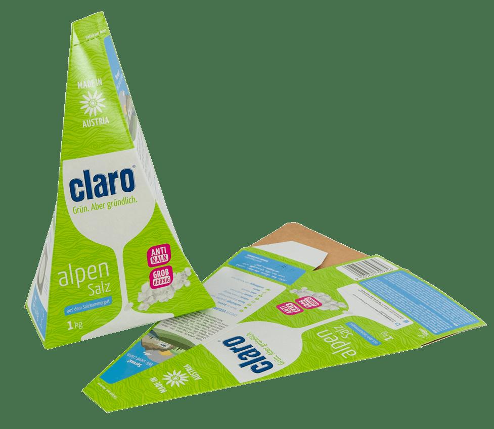 Kartonage aus Vollpappe nachhaltig