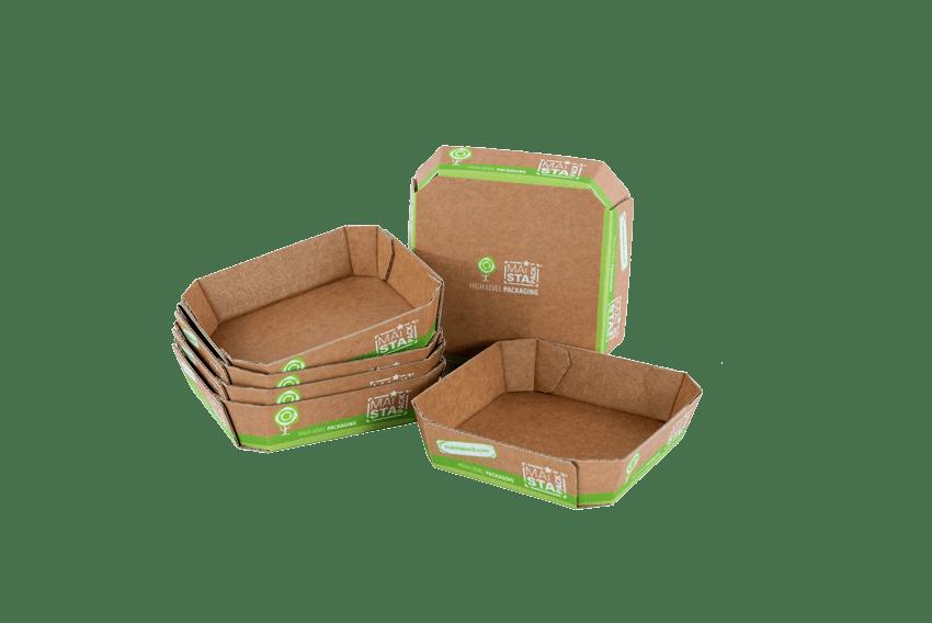 Obst- Gemüseschalen aus Karton