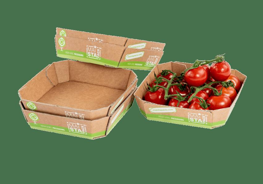 Gemüsetassen aus Papier