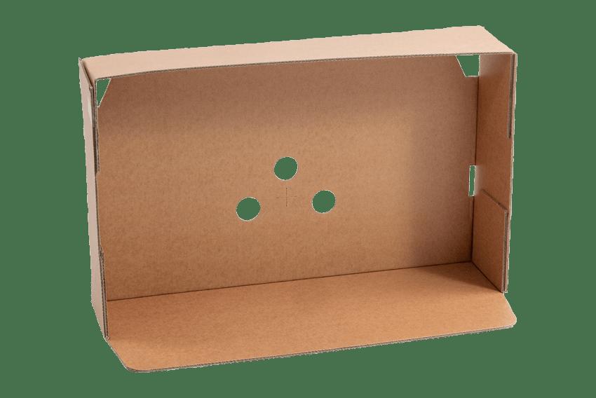Transportdeckel für Wellpappeferpackungen