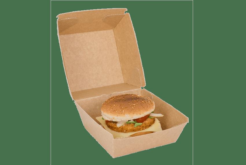 Burgerbox Verpackung ohne Plastik
