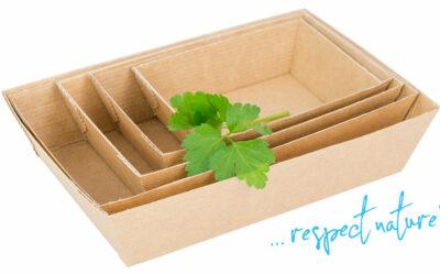 NACHHALTIGE VERPACKUNG: Foodschalen aus Karton