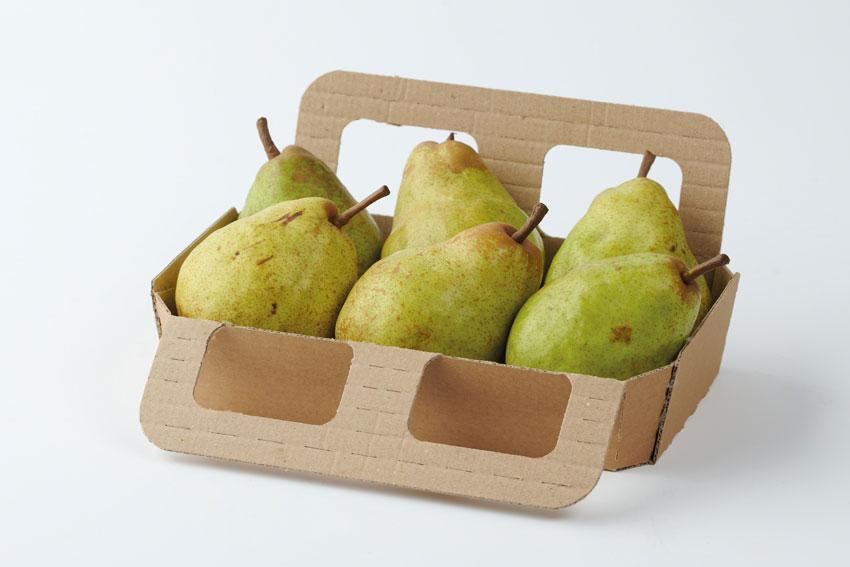 Birnentray aus Karton - Maistapack