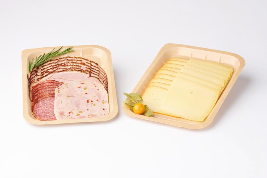 Wurst- Käseschale aus karton
